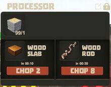 Creativerse Wood Rod Wood Slab00451 1