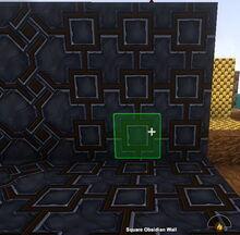 Creativerse Square Obsidian Wall88