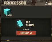 Creativerse Ice to Slopes in Processor