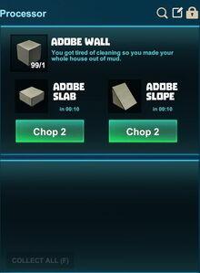 Creativerse processing slopes adobe