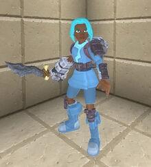 Creativerse sword holding 95