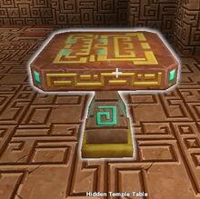 Creativerse X hidden temple table002