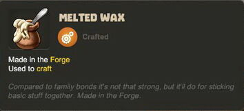 Creativerse tooltip Melted Wax R33 001