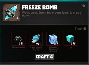 Creativerse crafting recipes R34 Explosives 0120