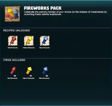 Creativerse R41,5 fireworks pack