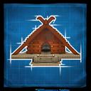Viking Longhouse Icon