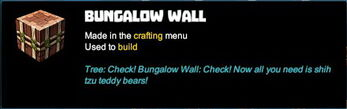 Creativerse tooltips R40 075 bungalow asphalt corrupt blocks crafted