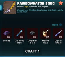 Creativerse sword crafting recipe 90