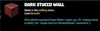 Creativerse tooltips R40 105 Stucco Mosaic Tile Walls