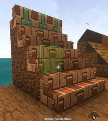 Creativerse X hidden temple stairs663
