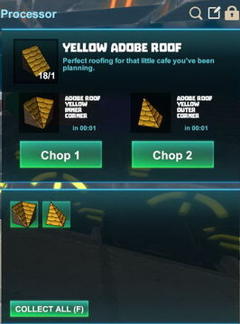 Creativerse R41,5 processing corners for roofs 510