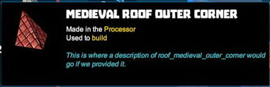 Creativerse R41,5 tooltips corners for roofs 528