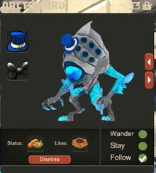 Creativerse Arctic Miru pet dressed79