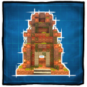 Mayan Temple Small Game Icon