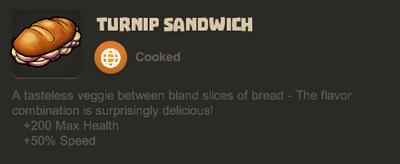 Sandwich turnip