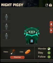 Creativerse Night pigsy pet3939