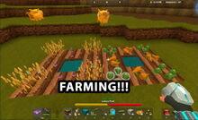 Creativerse farming official R22 video214