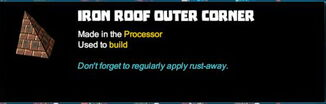 Creativerse R41,5 tooltips corners for roofs 511