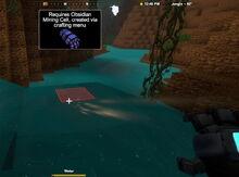 Creativerse mining cells water needs obsidian2