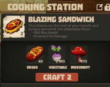 Creativerse cooking Blazing Sandwich003