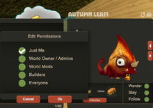 Creativerse Autumn Leafi pet setting rights92