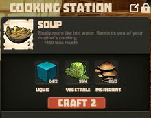 Creativerse Soup with mushrooms35