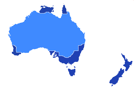 File:Map of Australia and New Zealand.png