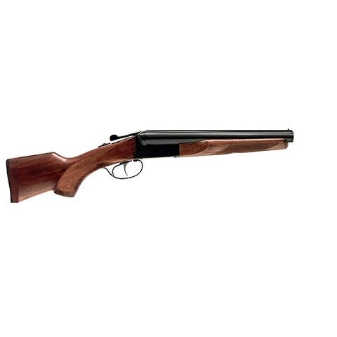 A sawn-off shotgun used by Sarah (Photoshop of a Stoeger coach gun)