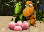 Ovaraptor eggs