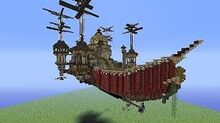 FLyiing ship