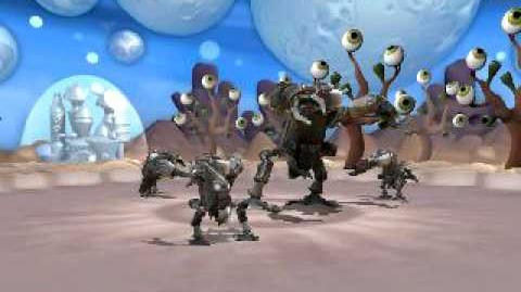 Spore Motiks do the Robot