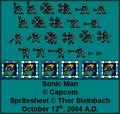 Sonic Man Spritesheet 1