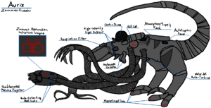 Aurix - Zommian Crusader Diagram