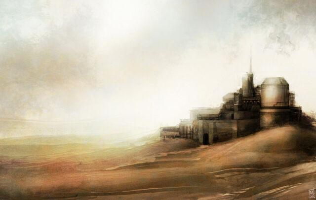 File:Desert outpost by marcodalidingo-d3dlr0y.jpg