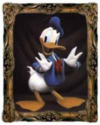 Donald Duck Portrait