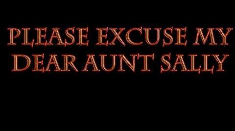 """""""Please Excuse My Dear Aunt Sally"""" by TwilightDagger"""