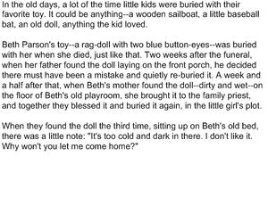 Buried Doll
