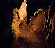 Iran hamedan ali sadr cave