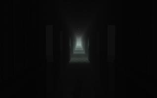 Long Dark Hallway v2 wip by spinagain