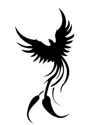 File:Black and white color phoenix tattoos (6).jpg