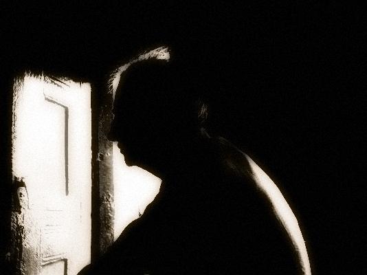 File:Old man (black n' white).jpg