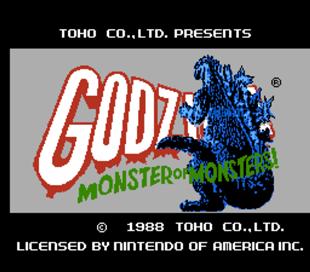 Godzilla Monster of Monsters