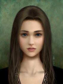 Melancholic princess
