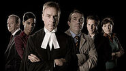 The original cast of Law and Order UK