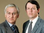John Thaw as DCI Endeavour Morse and Kevin Wheatly as DS Robert Lewis