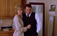 Barnaby with wife Joyce in The Killings at Badger's Drift