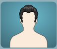 Disco hairstyle