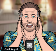 Frank, yelling out