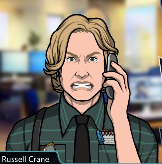 5 Russell Crane, hijo de Caroline.