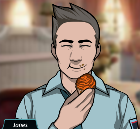 Jones - Eating Cupcake